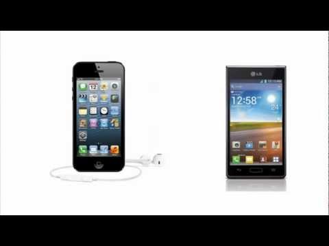 Apple iPhone 5 VS LG Optimus L7 P700, compare specs