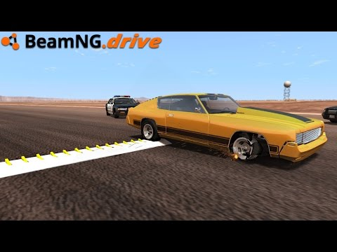 BeamNG.drive - SPIKE STRIPS