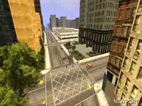Fly on GTA Liberty City Stories PSP