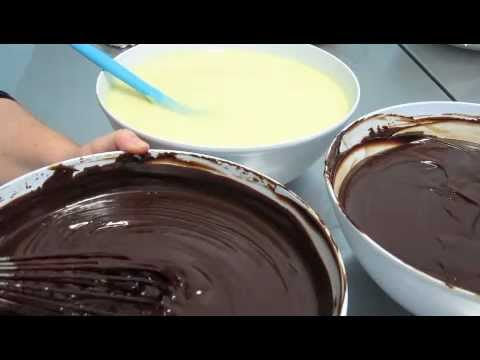 how to make chocolate ganache for decorating cakes Part 1 of 3 ...