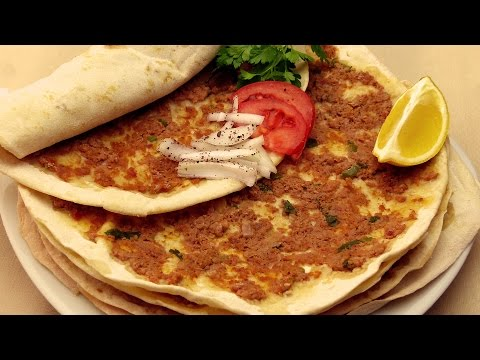 Турецкая пицца ( Лахмаджун ) рецепт