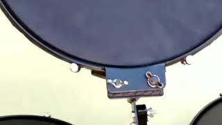Trio de surdos compactos fabricação do GD percussão