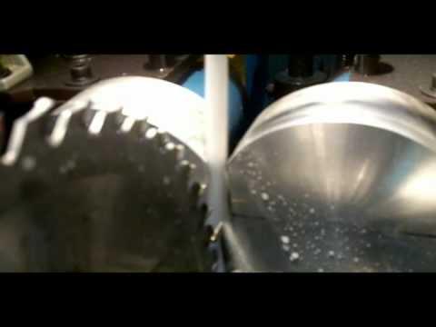 Afilado laterales de sierras circulares con cambio de dientes