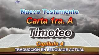 Carta 1ra. A Timoteo - Traducción Lenguage Actual
