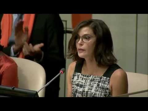Actress Teri Hatcher, Commemoration of the International Day to End Violence against Women 2014