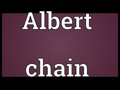 Header of albert chain
