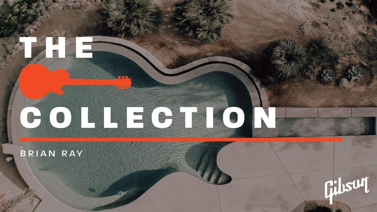 Brian Ray (Paul McCartney Band) - GibsonTV「The Collection」に登場 レスポール型プールのある自宅にてビンテージギターを紹介する映像を公開 thm Music info Clip