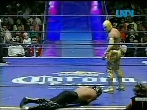 CMLL - Místico, Volador Jr., La Sombra vs. Mr. Niebla, Rey Bucanero, Black Warrior, 2009/01/11