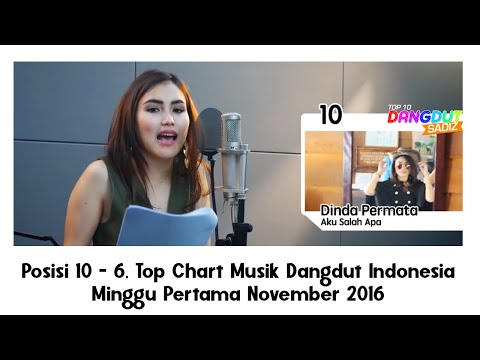 download lagu Posisi 10 - 6, Top Chart Musik Dangdut Indonesia Minggu Pertama November 2016 gratis