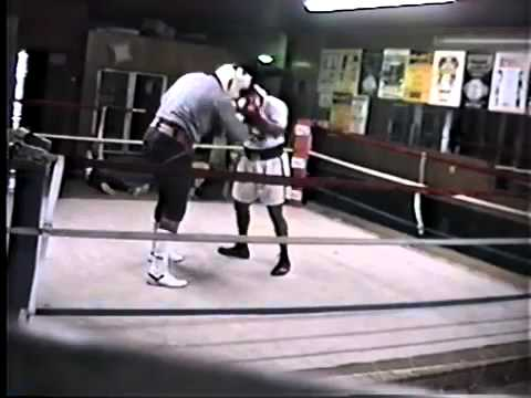 Mike Tyson Sparring Image 1