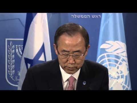 Statements by PM Netanyahu and UN Secretary General Ban Ki-moon