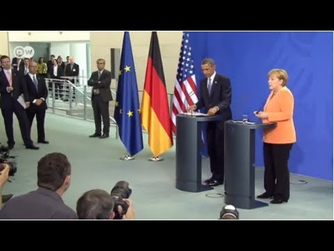 President Obama and Chancellor Merkel on NSA surveillance issue | Journal