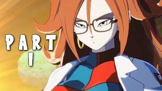 DRAGON BALL FIGHTERZ STORY MODE CAMPAIGN Walkthrough Gameplay Part 1 - INTRO (DBFZ)
