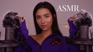 ASMR Scratching Your Fluffy Ears! Trying Different Mic Covers