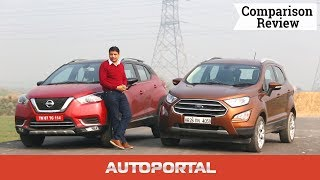 Ford Ecosport vs Nissan Kicks comparison - Autoportal