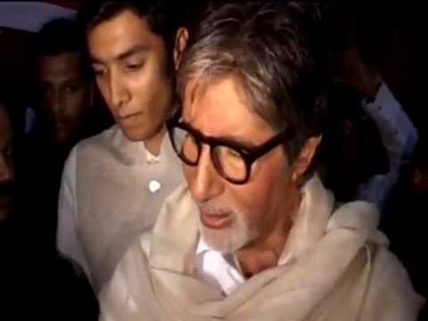 Amitabh Bachchan At 'bombay To Goa' Special Screening video