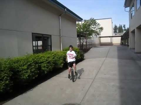 Jake and Matt (riding at Olympic View Middle School)