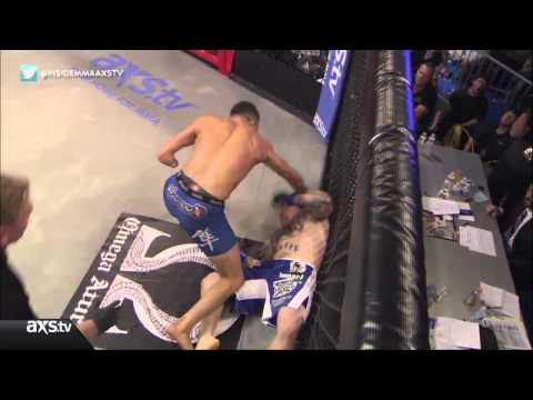 Nick Newell defeats David Mays with Knee KO at XFC 19 Live on AXStv