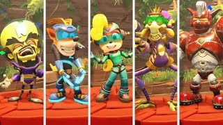 Crash Team Racing Nitro Fueled - All Victory Animations