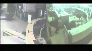 GRAPHIC VIDEO: Detroit police video of precinct shooting