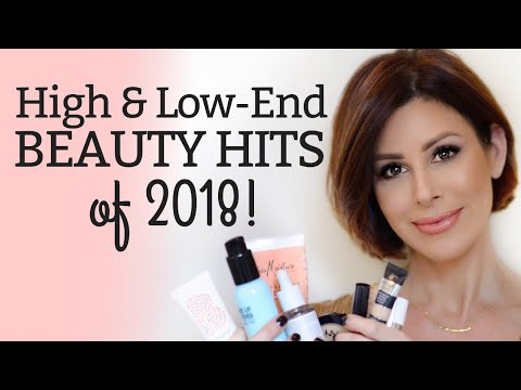 Best Beauty Hits of 2018 (High + Low End) | Dominique Sachse