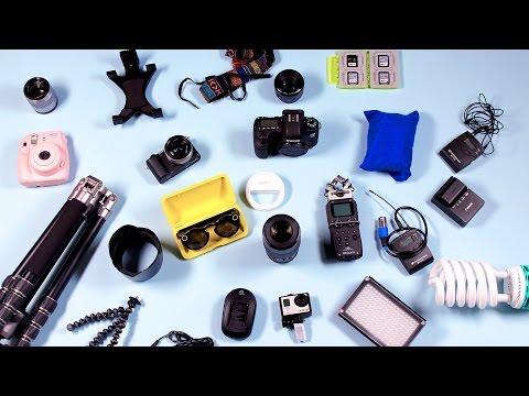 Tech Haul: Whats In My Camera Bag!   TECH TALK