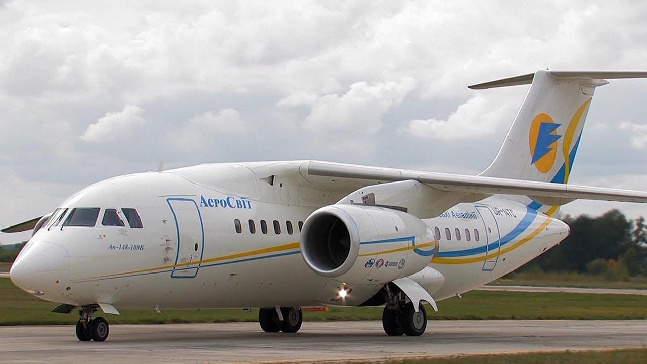 Антонов Ан-148 Авиасвит 2010 Antonov An-148 Aviasvit 2010 ...