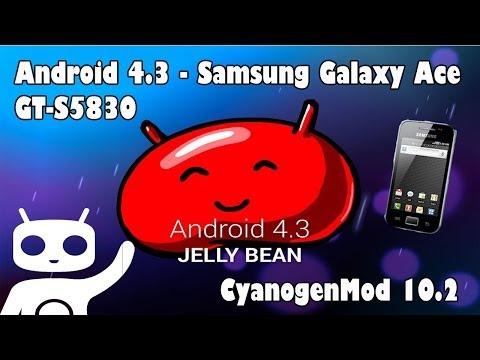 Instalar Android 4.3 en Samsung Galaxy Ace mediante CyanogenMod 10.2 Español