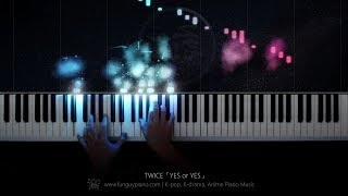 TWICE「YES or YES」Piano