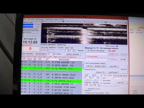 Introduction to JT65 amateur radio digital mode