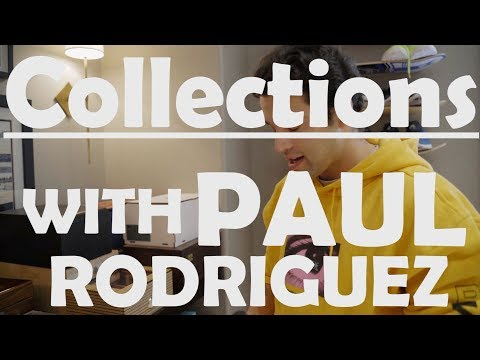 Paul Rodriguez Memorabilia Collection