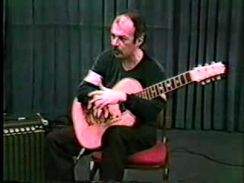 Lenny Breau Guitar Lesson Harp Harmonics Part 1