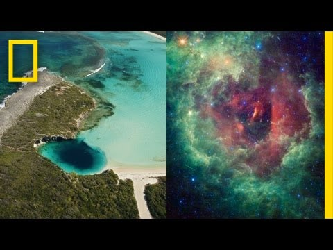 Mapping the Unknown, Part 3: Blue Holes and Dark Energy