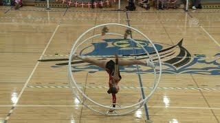 WC 2013  in Wheel Gymnastics  Junior woman Jana Holtermann 1...