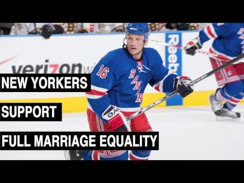Sean Avery For HRC's NYers 4 Marriage Equality (video)