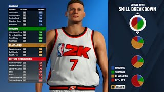 A THICC SMALL FORWARD - NBA 2K20 My Player Demo - Build #1