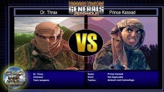 C&C Generals Zero Hour Challenge Toxin 03: Dr. Thrax x Prince Kassad [HARD]