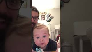 Funny Baby Hype-Man For Dads Jokes