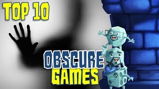 Top 10 Obscure Games