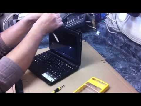 GizmoTij: Acer One D257-13612 Desmontar/Desarmar la pantalla de una Laptop