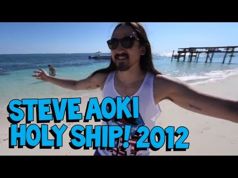 Steve Aoki Invades Holy Ship! 2012