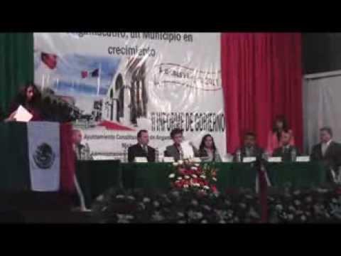 SEGUNDO INFORME GOBIERNO MUNICIPAL , ANGAMACUTIRO , CESAR OJEDA PEREZ , PRESIDENTE MUNICIPAL 6 DIC
