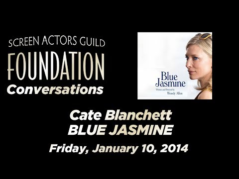 Conversations with Cate Blanchett of BLUE JASMINE