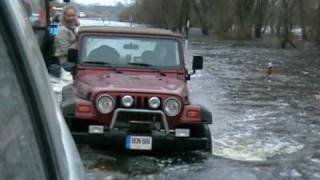 Foresterclub.lt watching the flood of Lithuania. Part 6