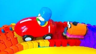 Pocoyo Race Track and Noo Noo