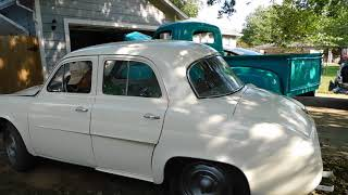1960 Renault Dauphine - First drive in 40 years