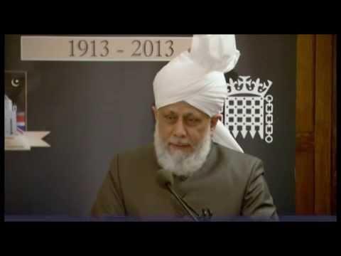 (Rus Khalifa@UKParl't) Халиф Ислама в Парламенте Великобритании: Ислам -- религия мира и сочувствия