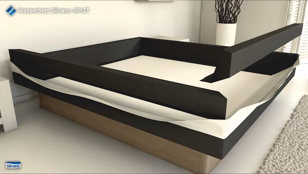 aufbau wasserbett silvano split youtube. Black Bedroom Furniture Sets. Home Design Ideas