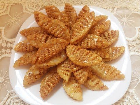 معسلات رمضان .. قريوش أو كراوش هشيش وخفيف و بشكل جديد.. حلويات مقلية و معسلة