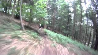 Enduro stage at the fod